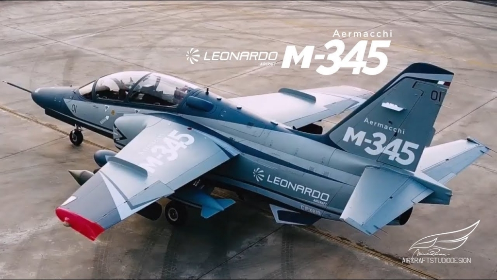 Aermacchi M345 Jet Instructor Wallpapers