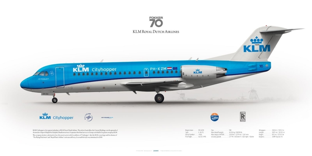 Fokker 70 Wallpapers