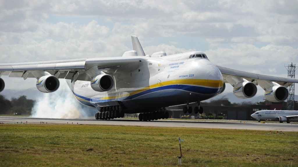 Antonov An225 Mriya Spy Shots