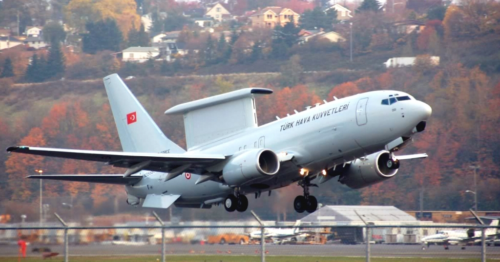 Boeing 737 AEW&C Wedgetail Exterior