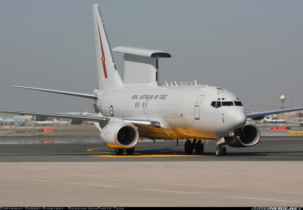 Boeing 737 AEW&C Wedgetail Redesign