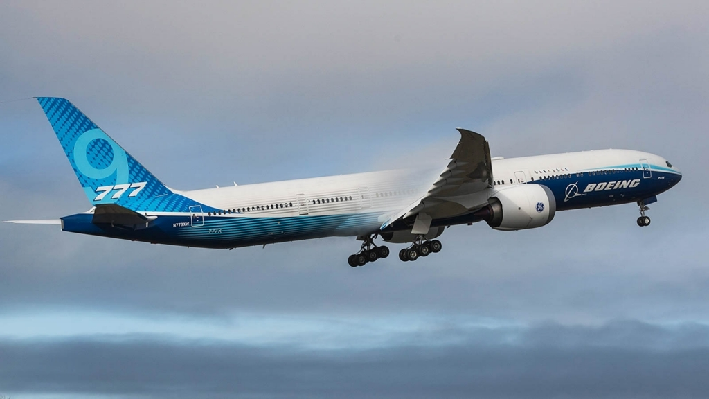 Boeing 777300ER Wallpaper
