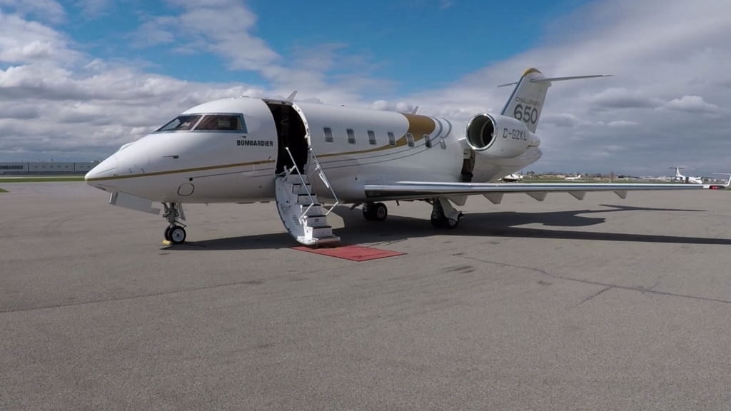 Bombardier Challenger 650 Redesign
