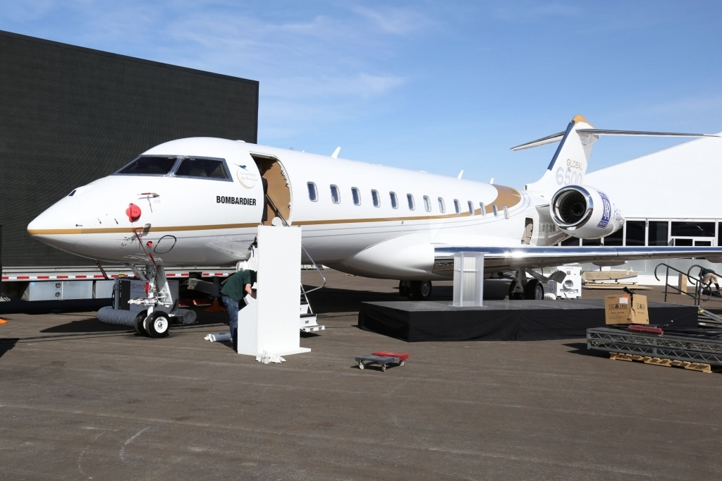 Bombardier Global 6500 Redesign