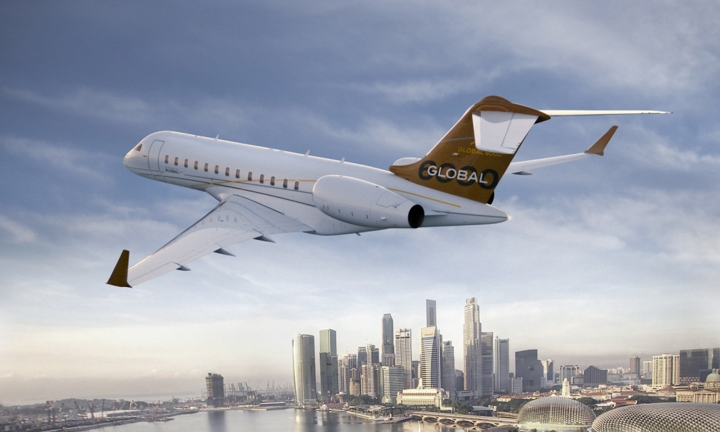 Bombardier Global 8000 Images