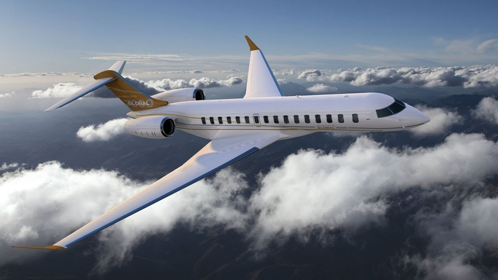 Bombardier Global 8000 Redesign