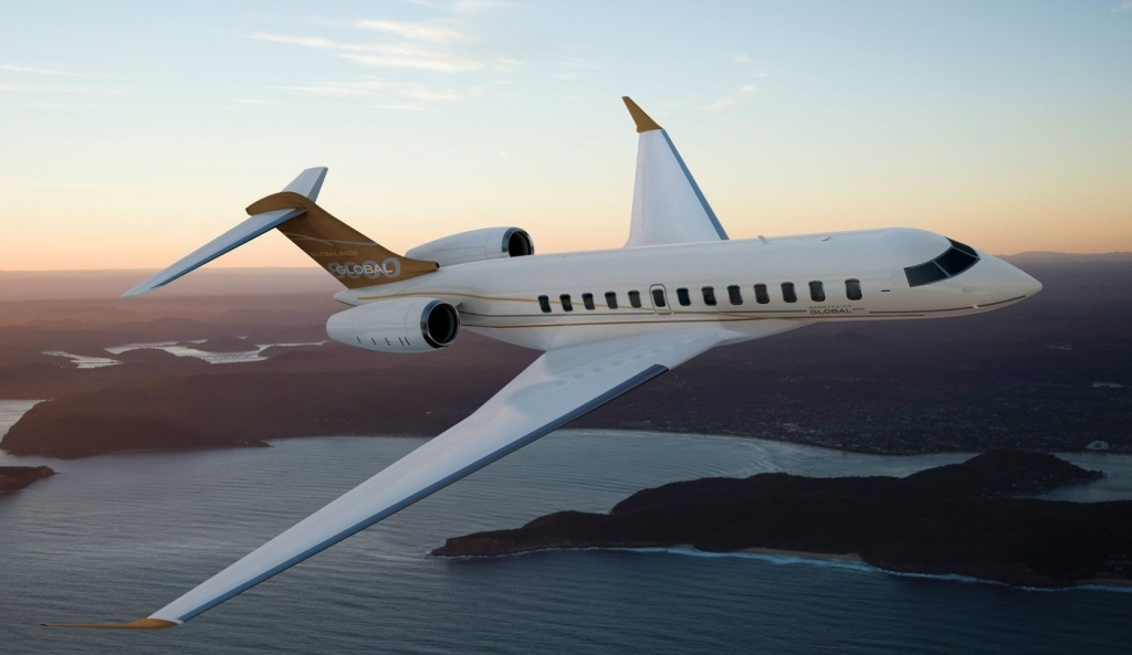 Bombardier Global 8000 Spy Shots