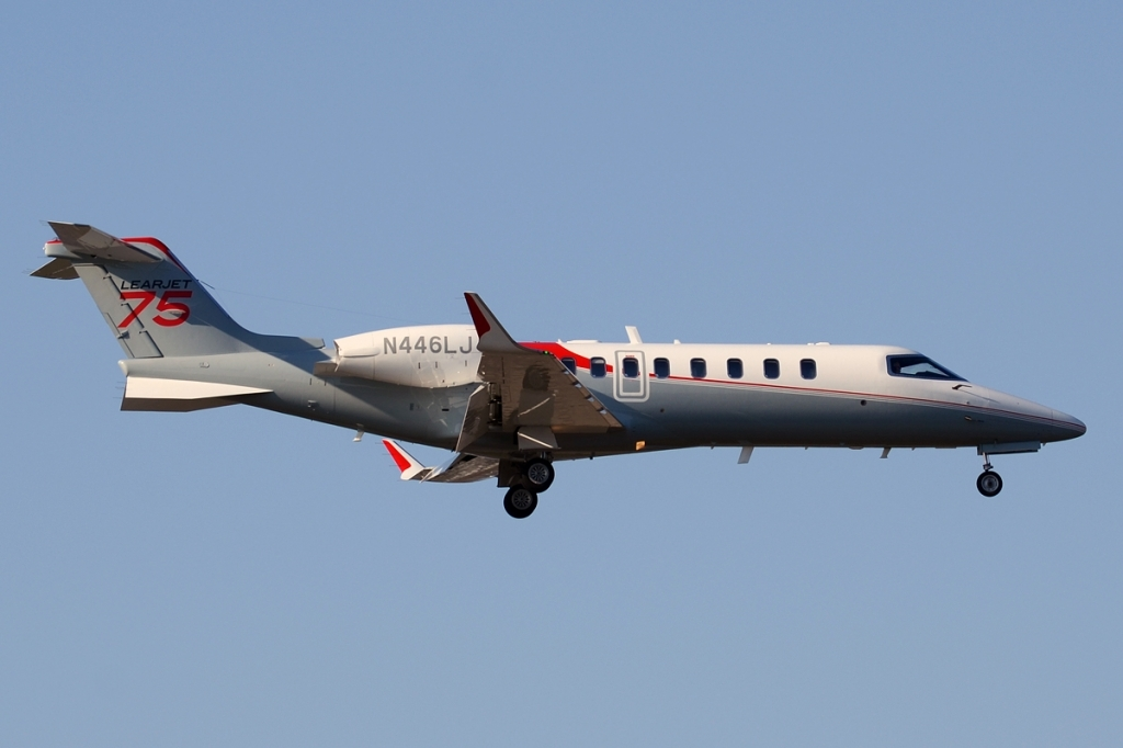 Bombardier Learjet 75 Spy Shots