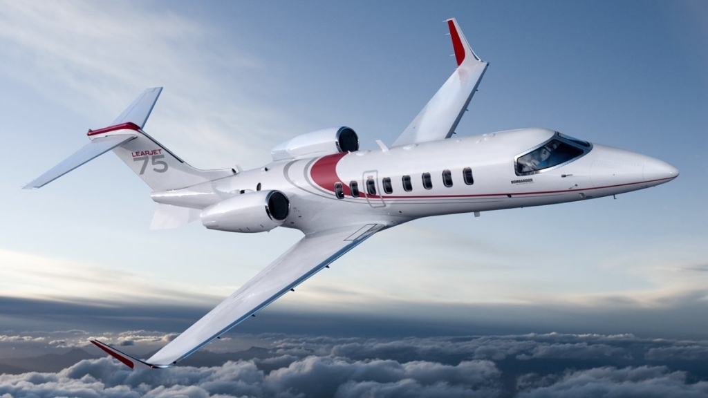 Bombardier Learjet 75 Wallpaper