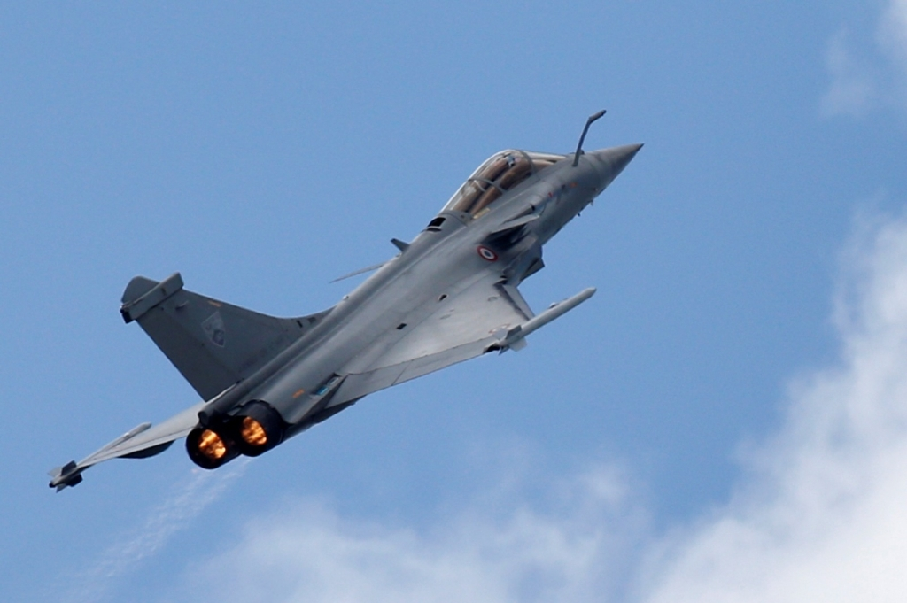 Dassault Rafale Fighter Jet Spy Photos
