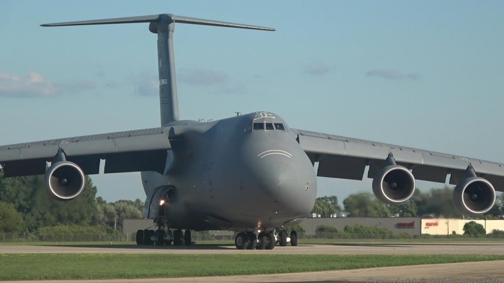 Lockheed Martin C5 Galaxy Powertrain