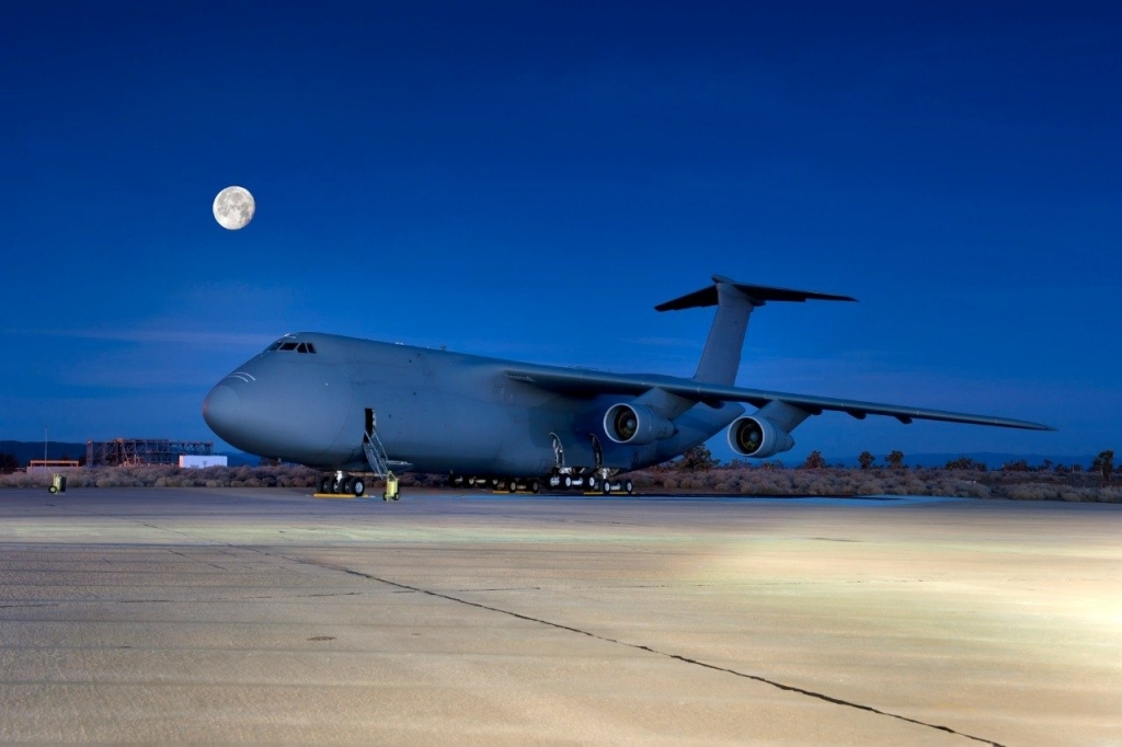 Lockheed Martin C5 Galaxy Spy Shots