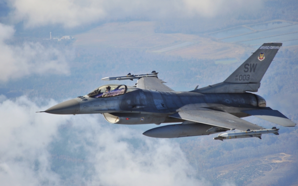 Lockheed Martin F16 Fighting Falcon Wallpaper