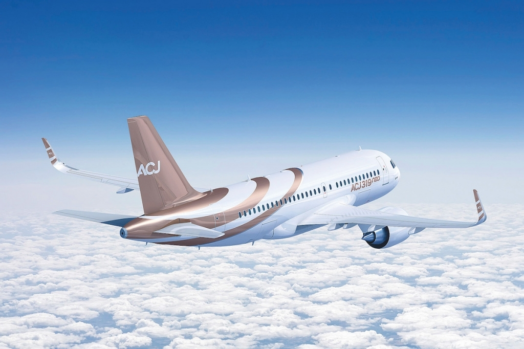 Airbus ACJ319neo Wallpaper