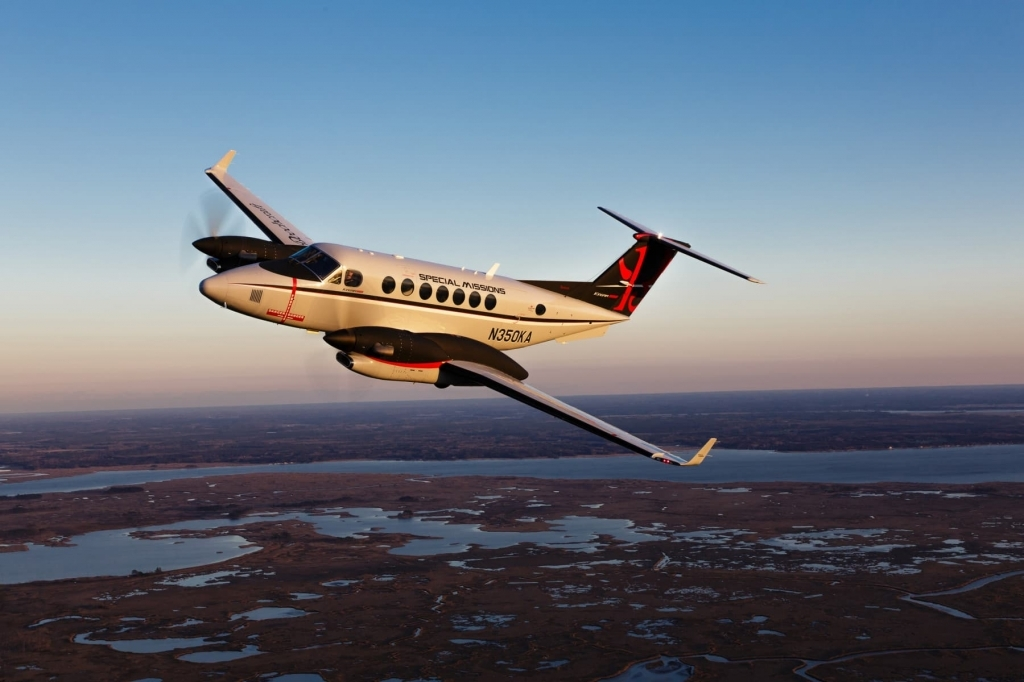 Beechcraft King Air 350ER Pictures