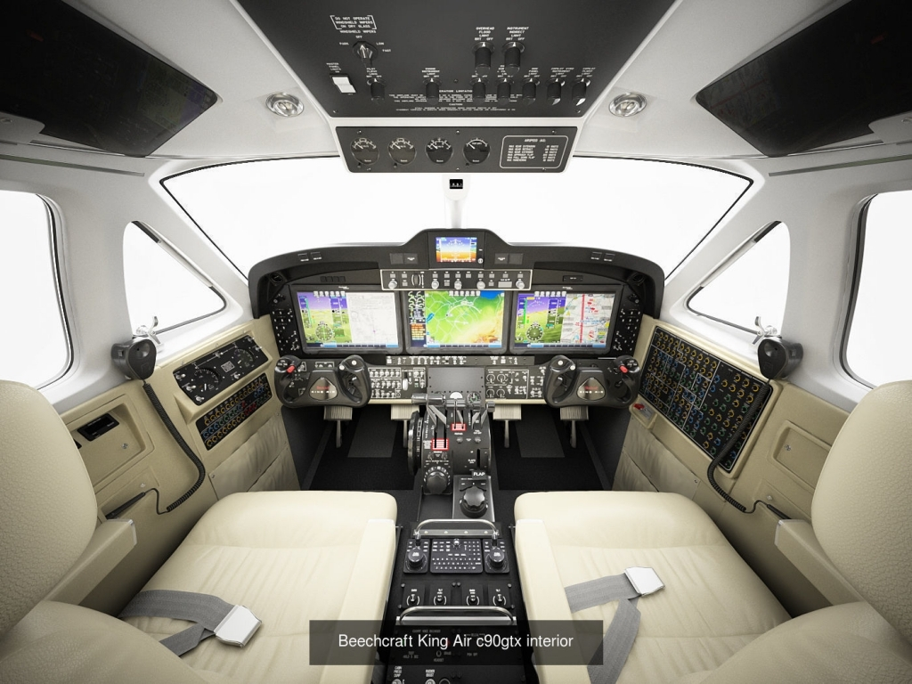 Beechcraft King Air C90GTx Interior