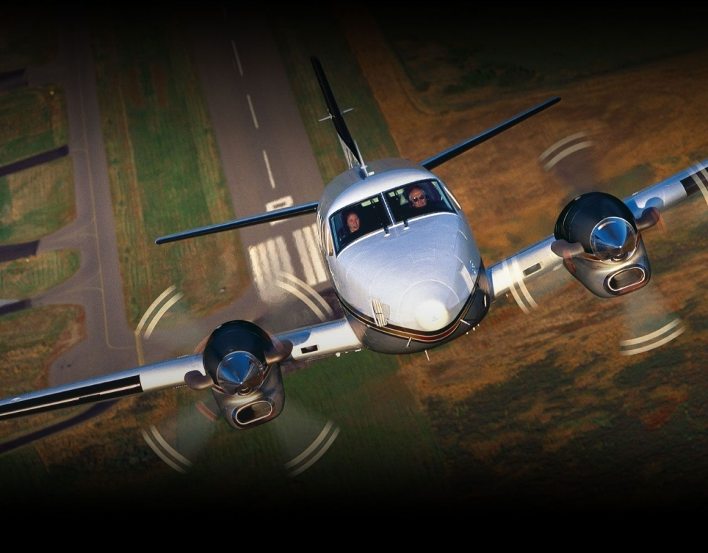 Beechcraft King Air C90GTx Spy Photos