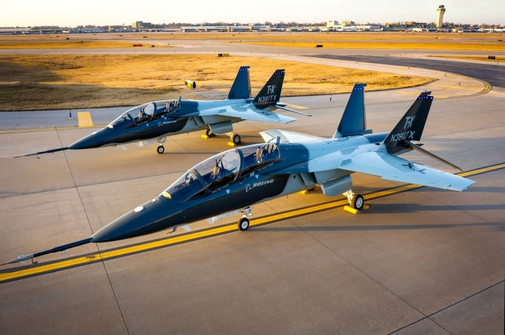 Boeing TX Trainer Wallpapers