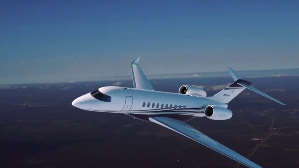 Cessna Citation Hemisphere Exterior