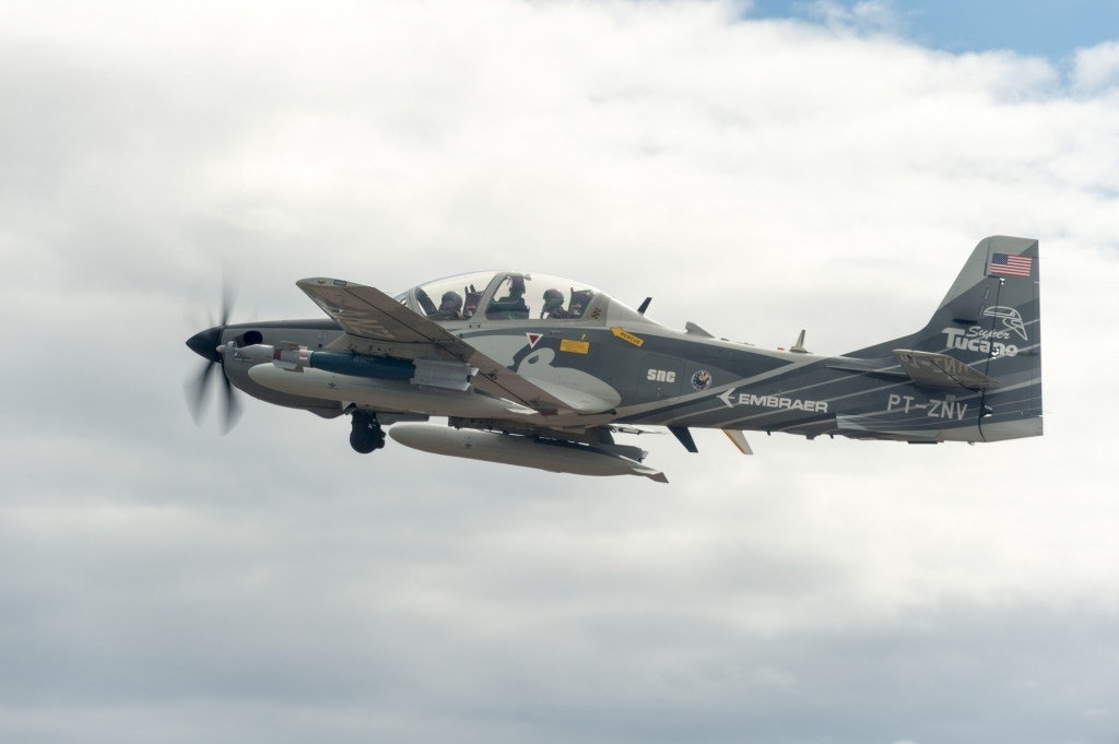 Embraer EMB314 Super Tucano Spy Shots