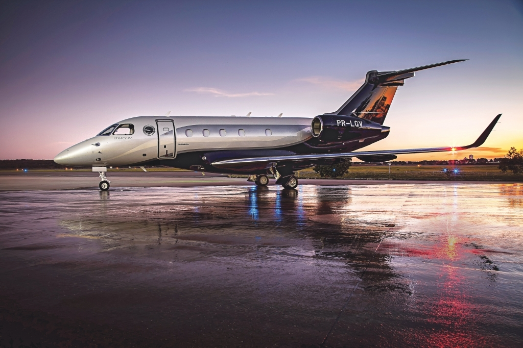 Embraer Legacy 450 Powertrain