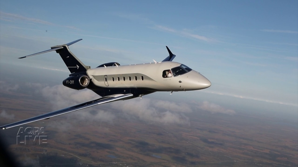 Embraer Legacy 500 Spy Photos
