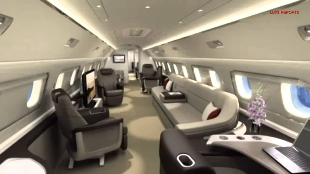 Embraer Lineage 1000 Interior
