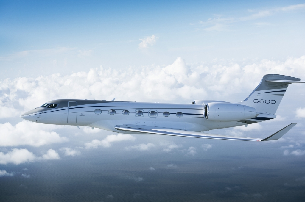 Gulfstream G600 Spy Photos