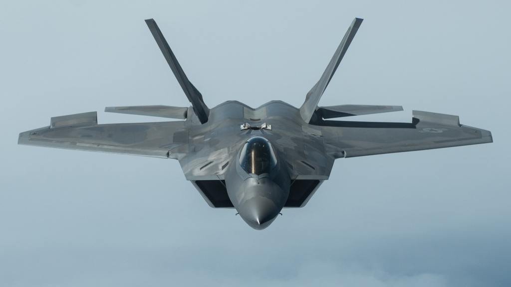 Lockheed Martin F22 Raptor Spy Shots