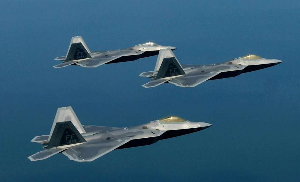 Lockheed Martin F22 Raptor Wallpaper