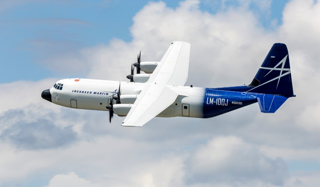 Lockheed Martin LM100J Super Hercules Wallpaper