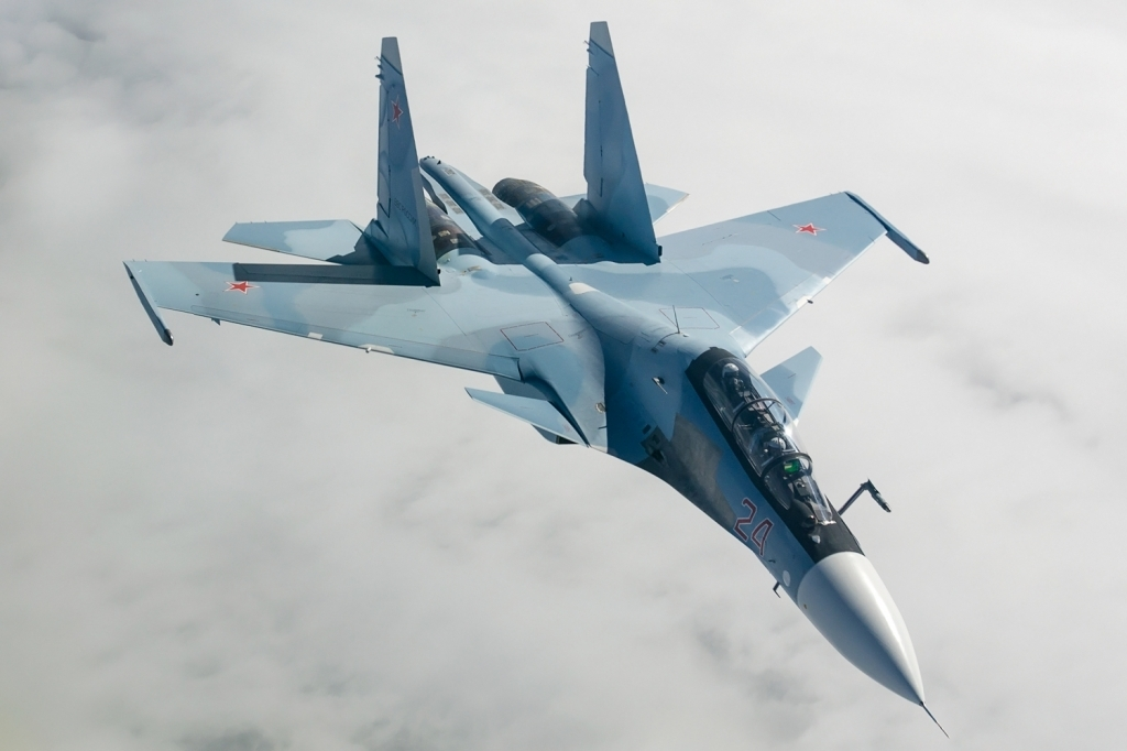 Sukhoi Su30SM Fighter Jet Pictures