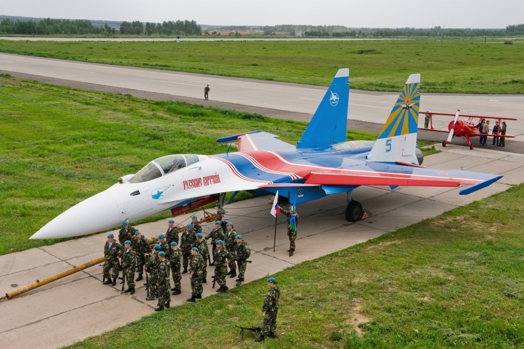 Sukhoi Su35 Fighter Spy Shots
