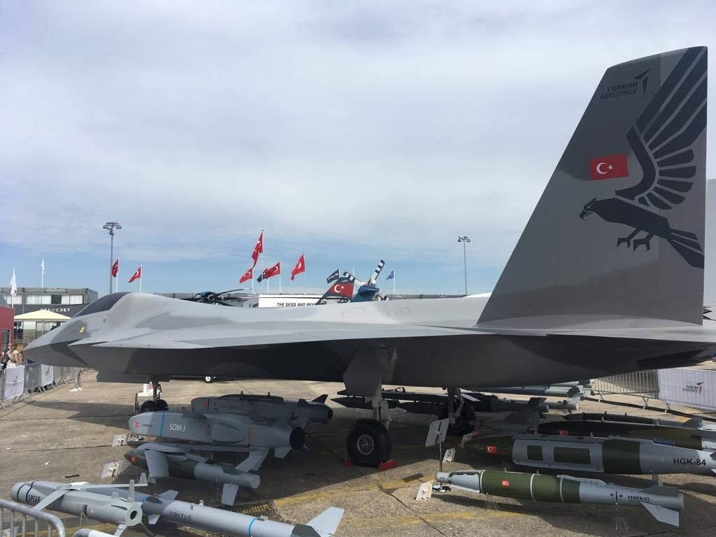 TAI TFX Stealth Fighter Concept