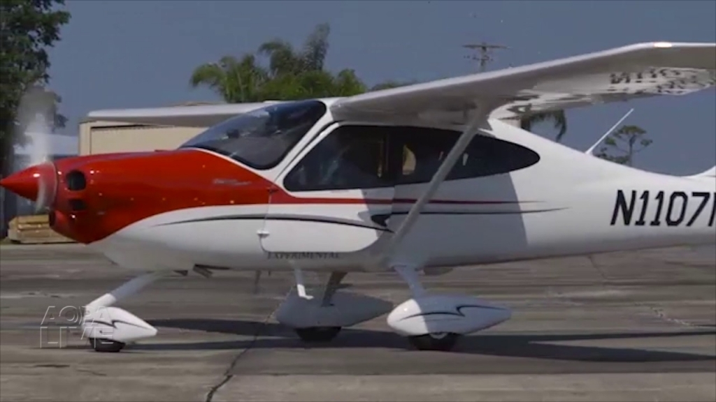 Tecnam P2010 Spy Shots